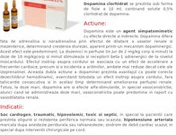 Clorhidrat Dopamina