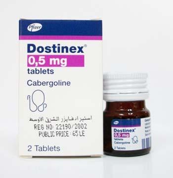 Dostinex tablete