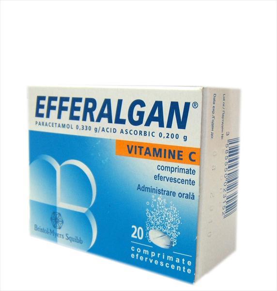 Prospect Efferalgan cu Vitamina C