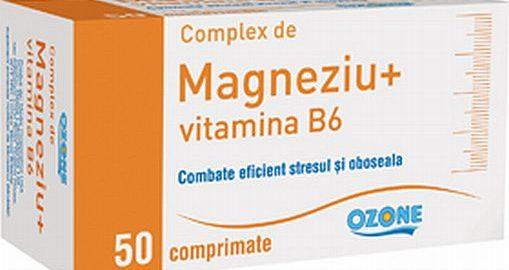 Magneziu cu Vitamina B6