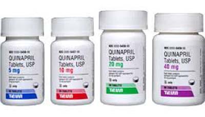 Quinapril comprimate