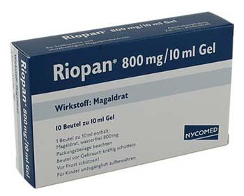 Antacid perfect Riopan – Arsuri la Stomac