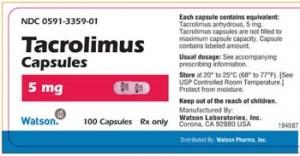 Tacrolimus Prospect