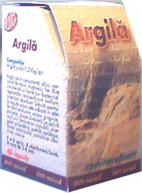 Argila Supliment Alimentar