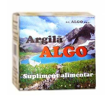 Prospect Argila Algo - Gastrita - Hemoroizi - Tulburari Metabolice