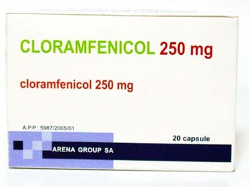 cloramfenicol prospect