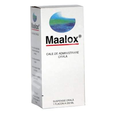 Maalox Suspensie Prospect