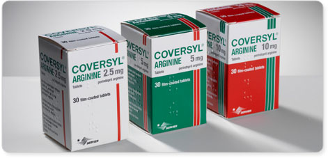 Coversyl 5mg Perindopril Arginine