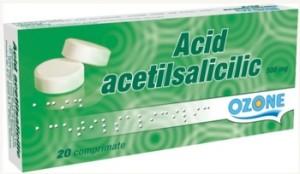 Acid acetilsalicilic prospect