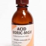 Acid boric solutie