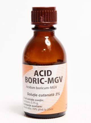 Prospect Acid Boric solutie