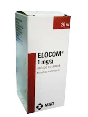 Prospect Elocom - corticosteroid solutie cutanata