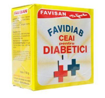 Favidiab ceai antidiabetic