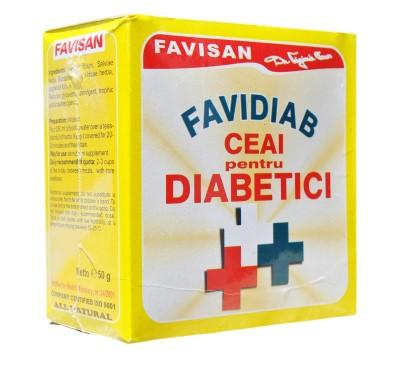 Prospect Favidiab ceai antidiabetic