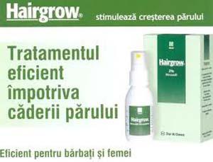 Pentru caderea parului Hairgrow