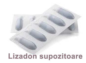 Prospect Lizadon supozitoare