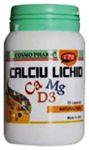 Prospect Calciu lichid cu vitamina D3 si Mg