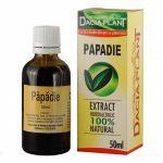 Extract hidroalcoolic de papadie