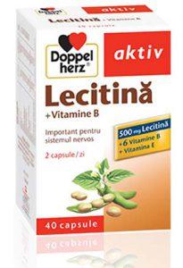 Lecitina cu Vitamina B