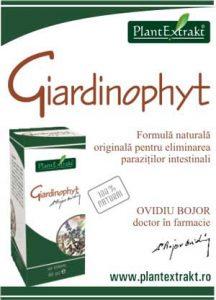 Giardinophyt pentru paraziti intestinali