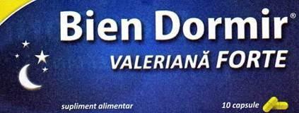 Prospect Bien Dormir cu Valeriana Forte