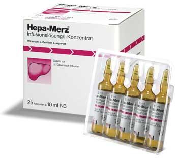 Hepa Merz fiole pentru detoxifierea ficatului