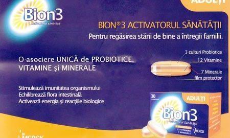 Bion 3 pentru adulti in scopul intaririi sistemului imunitar