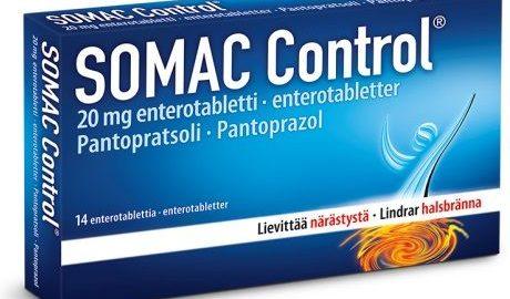 Somac Control al acidului si arsurii in stomac
