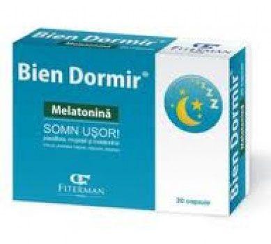 Prospect Bien Dormir cu Melatonina - Decalaj fus orar | Oboseala
