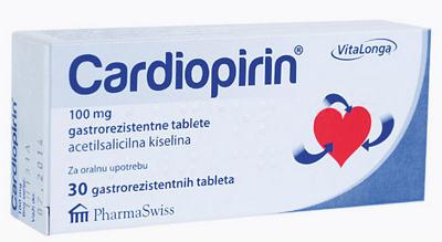 Prospect Cardiopirin – angina pectorala