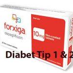 Prospect Forxiga – Diabet Zaharat Tip 1 si 2
