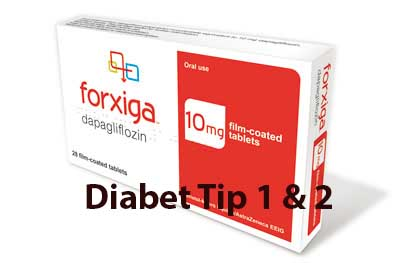 Forxiga DIabet tip 1 si 2
