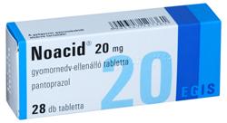 Prospect Noacid 20mg -  reflux gastroesofagian