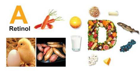 De unde luam natural vitaminele A + D2 ?