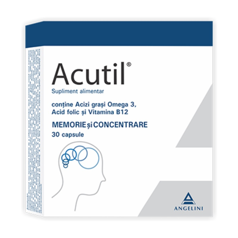 Prospect Acutil - Performante intelectuale