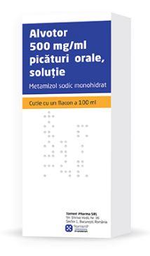 Alvotor Picaturi Prospect – Durere Febra