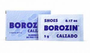 Borozin- pentru incalamite si picioare urat mirositoare
