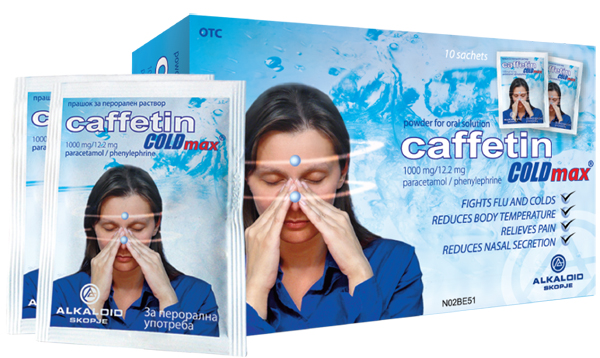Caffetin Prospect – Raceala si Gripa