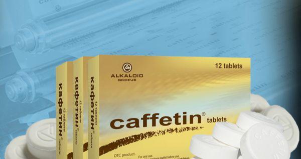 Caffetin tablete - Cefalee Migrene