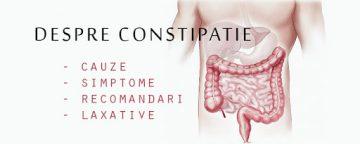 constipatia Tratament