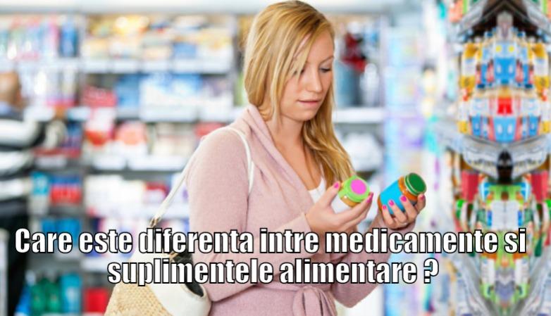 Care este diferenta intre medicamente, suplimentele alimentare si dispozitivele medicale?