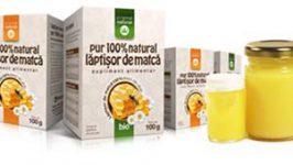 Tratamente naturiste eficiente cu laptisor de matca pur