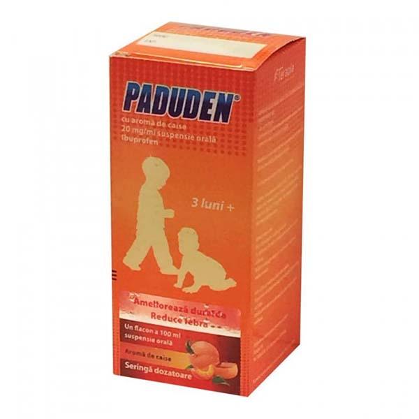 Prospect Paduden Sirop 100ml | Febra Dureri
