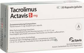 Prospect Tacrolimusum – Imunosupresor